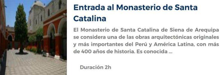 Entrada al Monasterio de Santa Catalina