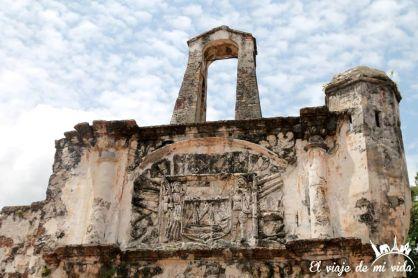 La Porta de Santiago en Malaca