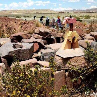 Ruinas de Tiahuanaco en Bolivia