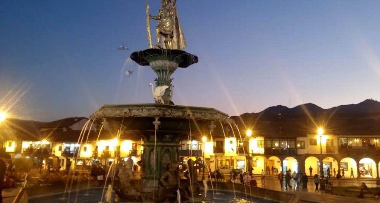 Plaza de Armas de Cusco, Perú
