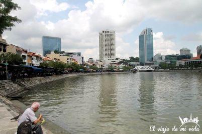 Antiguo puerto de Singapur