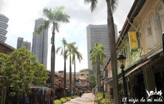 El barrio malay en Singapur