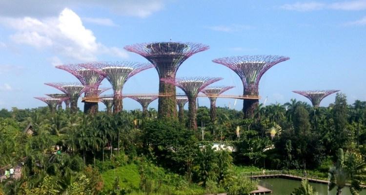 Gardens by the Bay en Singapur