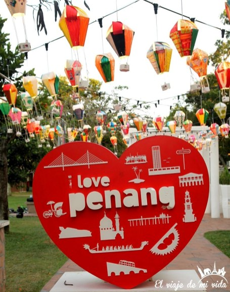 I love Penang, Malasia