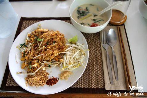 Pad Thai en Thai Secret Cooking