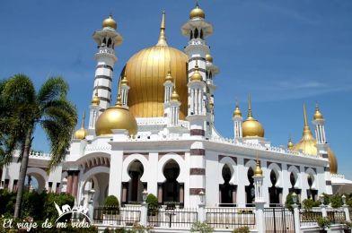 Mezquita de Kuala Kangsar en Malasia