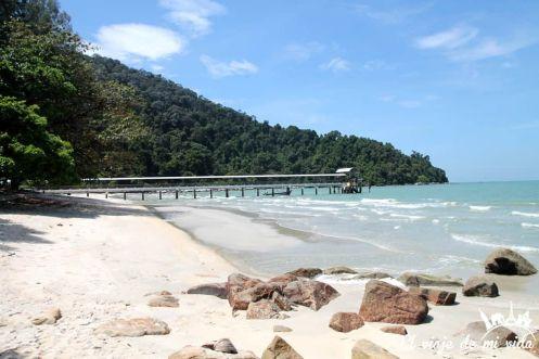 Las Playas del Parque Nacional de Penang