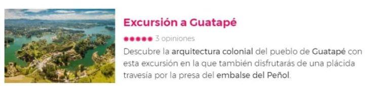 Excursión a Guatapé