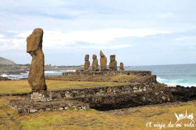 Moais de la Isla de Pascua