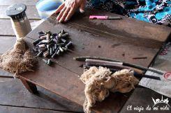 Hilado tradicional en el lago Inle, Myanmar