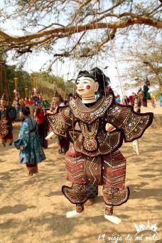 Marionetas tradicionales de Bagan, Myanmar