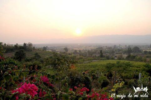 Red Mountain Estate junto al lago Inle, Myanmar