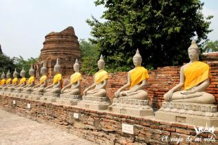 Templo Wat Yai Chai Mongkol, Tailandia
