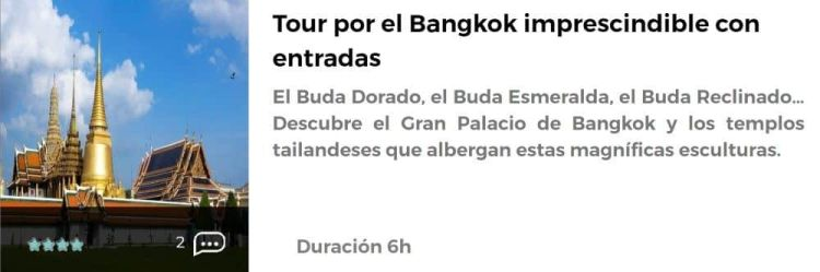 Tour por Bangkok