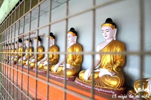 Los cientos de Buda de la pagoda U Min Thonze