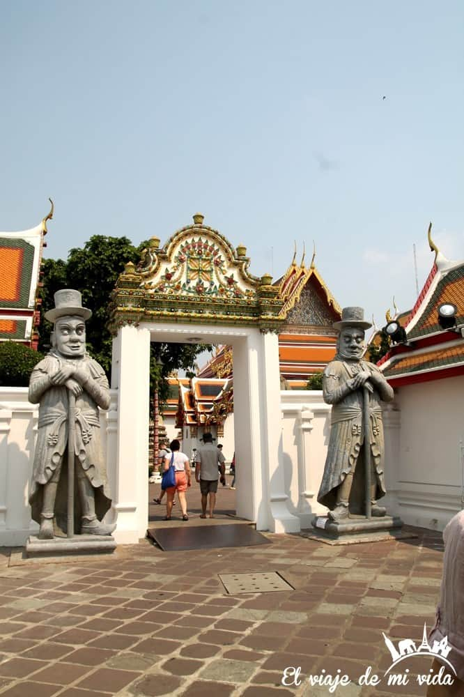 Templo Wat Pho, Bangkok, Tailandia
