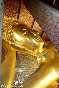 El enorme Buda reclinado, Bangkok, Tailandia