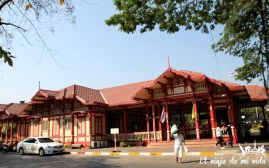 La vieja estación de tren de Hua Hin, Tailandia