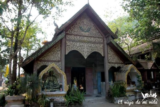 Pequeño templo del Mae Kam Pong, Chiang Mai, Tailandia