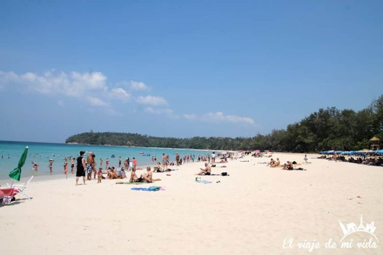 Playa de Karon, Phuket Town, Tailandia