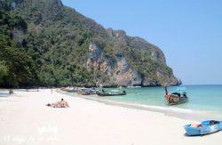 La playa de Koh Phi Phi
