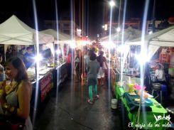 El Night Market de Krabi, Tailandia