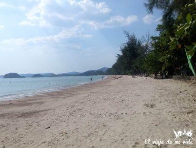 Las playas de Krabi, Tailandia