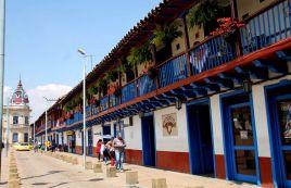 El bonito pueblo de Ziraquipá, Colombia
