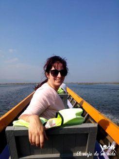 Paseando por el lago Inle