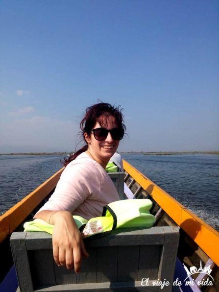 Paseo por el lago Inle, Myanmar