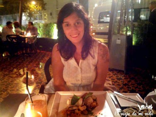 Cena de cumpleaños en Lima