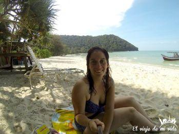 Playa de Monkey Beach, Malasia