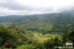 Vistas al Valle de los Nevados en Colombia