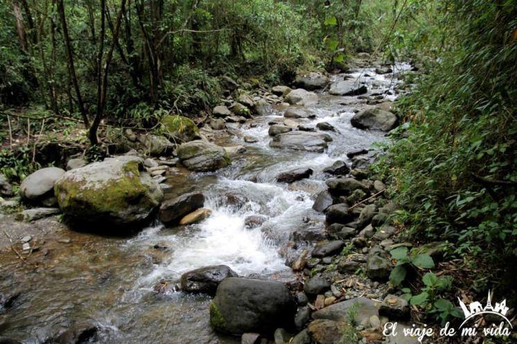 Cascada en el Valle de Cócora