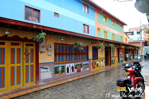 Las encantadoras calles de Guatapé