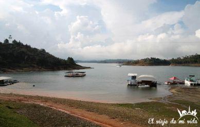 El lago de Guatapé