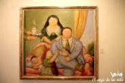 La familia colombiana según Botero