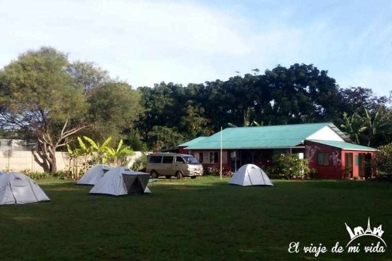 Cámping Tipanie Moana, Isla de Pascua