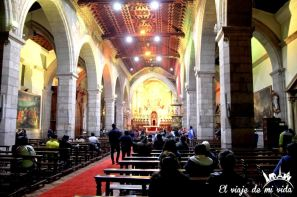 Interior de la Catedral de Quito, Ecuador