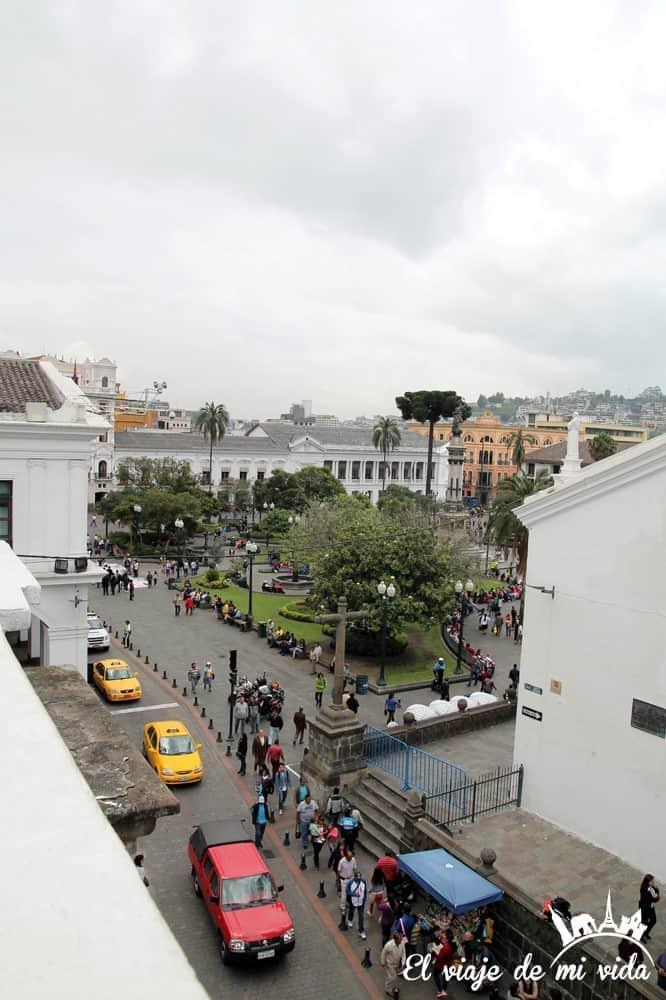 Vistas a la Plaza Independencia