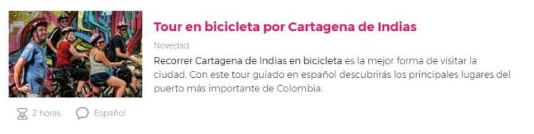 Tour por Cartagena de Indias