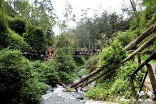 Las cataratas de Peguche, Otavalo, Ecuador