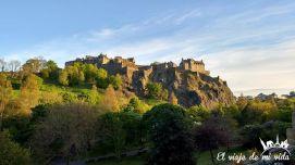 Castillo de Edimburgo en Escocia
