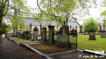 El cementerio de Greyfiars
