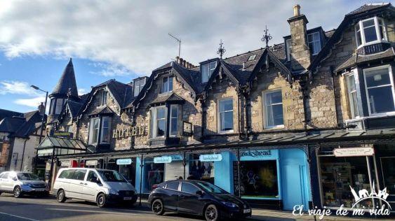 Pitlochry, uno de los pueblos más bonitos de Escocia