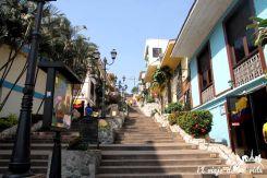 Barrio de las Penas en Guayaquil, Ecuador
