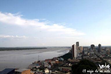 Vistas al río Guayas