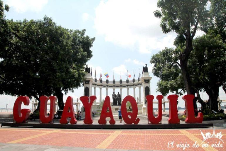 Malecón de Guayaquil, Ecuador