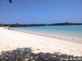 Playa Mansa en Galápagos