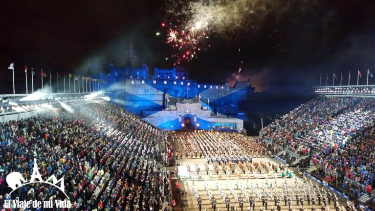 Military Tattoo en Edimburgo